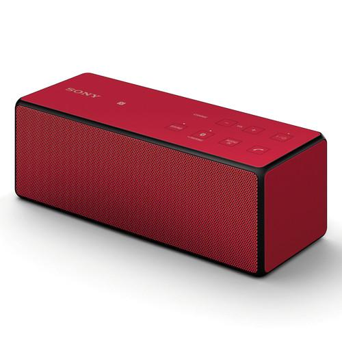 Sony  Portable Bluetooth Speaker (Red) SRSX3/RED