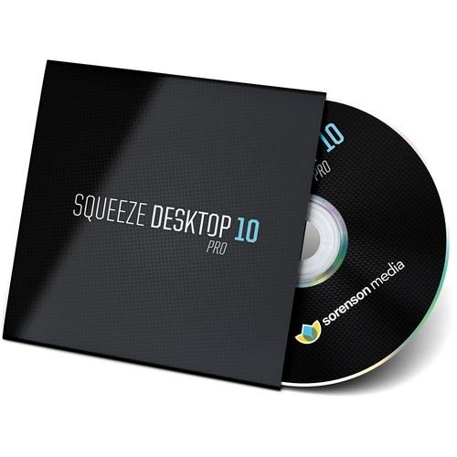 Sorenson Media Squeeze Desktop 10 Pro Upgrade from 2010P-8P-E