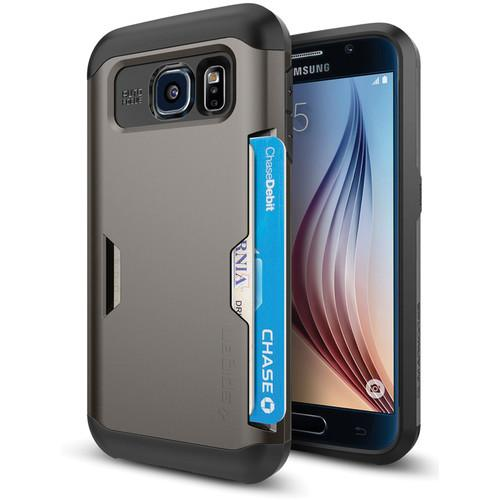 Spigen Slim Armor CS Case for Galaxy S6 (Gunmetal) SGP11335