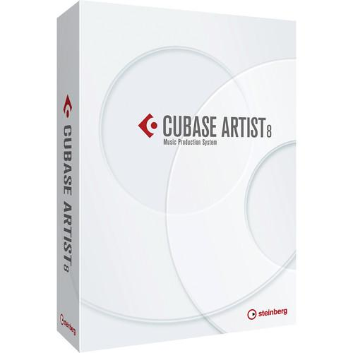 Steinberg Cubase Artist 8 - Music Production Software 45551