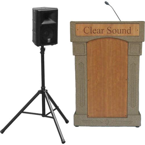 Summit Lecterns DaVinci Presenter Lectern SPDV12BG0