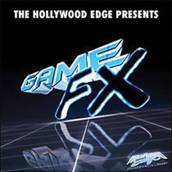 The Hollywood Edge Game FX Sound Effects Library HE-GAME-2496DN
