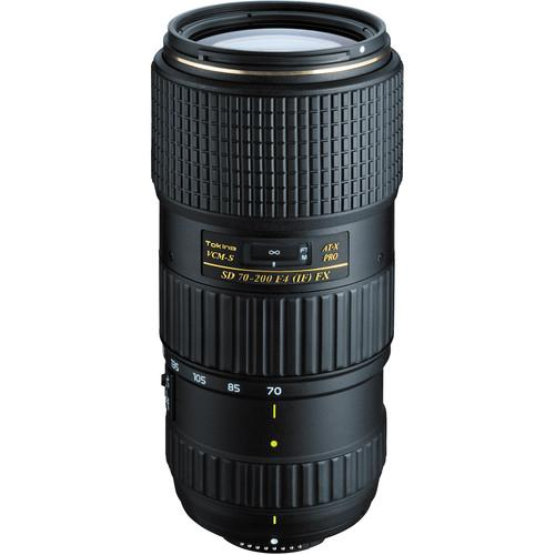Tokina AT-X 70-200mm f/4 PRO FX VCM-S Lens for Nikon ATXAF720FXN