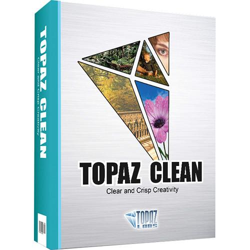 Topaz Labs LLC Topaz Clean Plug-In (DVD) TP-CLE-C-001-GN