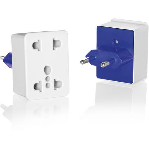 Travel Smart by Conair NWD1 Dual Outlet Adapter Plug NWD1