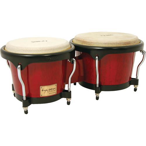Tycoon Percussion TAJ-8 WDVD Djembe Instrument Starter Kit Musical ...