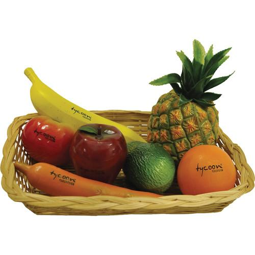 Tycoon Percussion Fruits and Veggies Shaker Set TFVSS