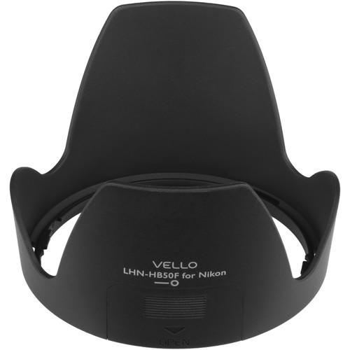 Vello HB-50F Dedicated Lens Hood with Filter Access LHN-HB50F