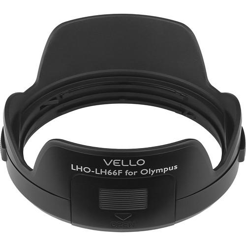 Vello LH-66F Dedicated Lens Hood with Filter Access LHO-LH66F