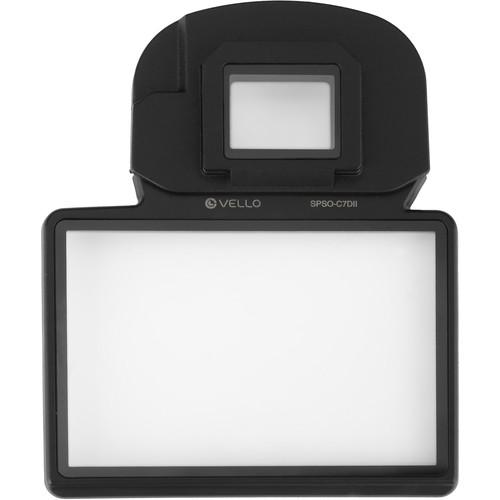 Vello Snap-On Glass LCD Screen Protector for Canon SPSO-C7DII