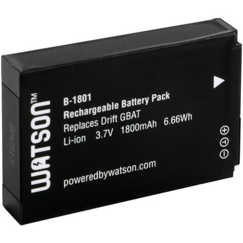Watson Lithium-Ion Battery Pack (3.7V, 1800mAh) for HD B-1801