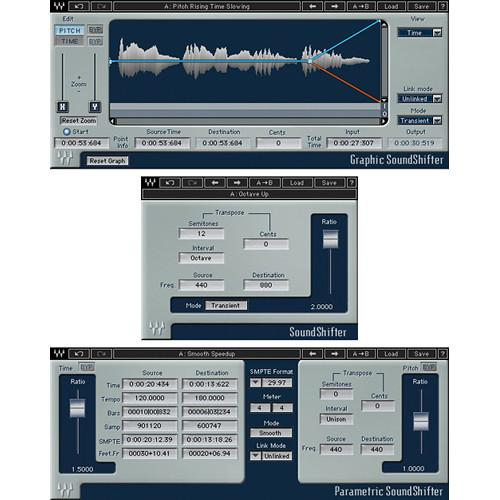 Waves SoundShifter - Pitch and Time-Shift Plug-In SOUSHF