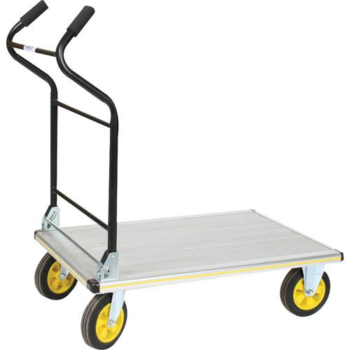 Wesco Aluminum Folding Ergo Handle Platform Truck 270382