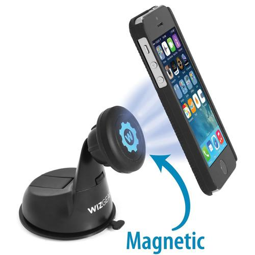 WizGear Universal Magnetic Car Dashboard and Windshield WG-MDCM