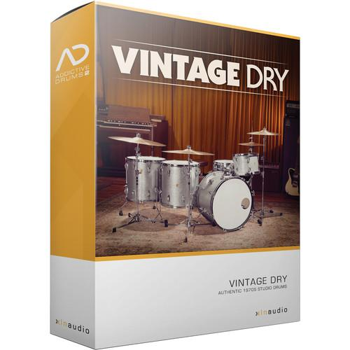 XLN Audio Vintage Dry AD2 ADPAK - Virtual Drum Kit XLN1060
