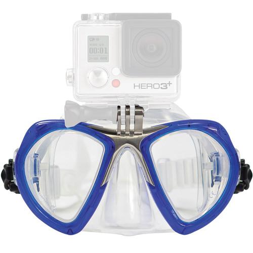 XS Foto GoMask Scuba Mask with GoPro Attachment MA560BU