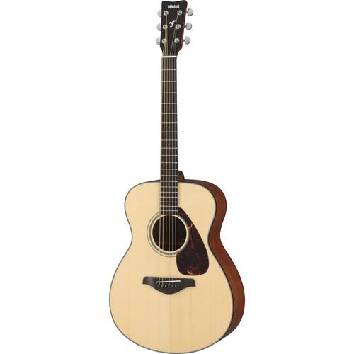 Yamaha FS700S Concert-Size, Solid-Top Acoustic Guitar FS700S