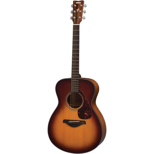 Yamaha FS700S Concert-Size, Solid-Top Acoustic Guitar FS700S TBS