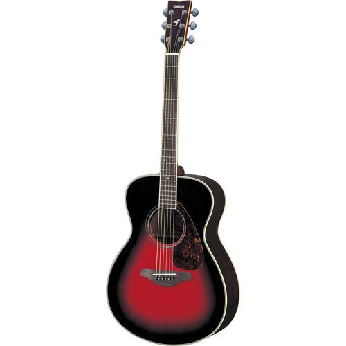 Yamaha FS730S Solid-Top Acoustic Guitar (Dusk Sun Red) FS730S