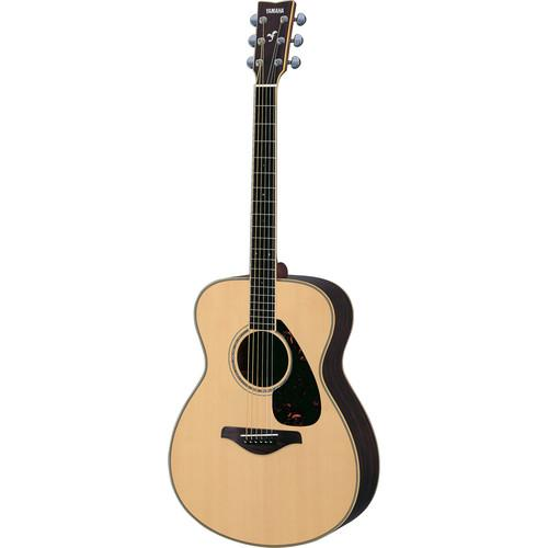 Yamaha FS730S Solid-Top Acoustic Guitar (Natural) FS730S
