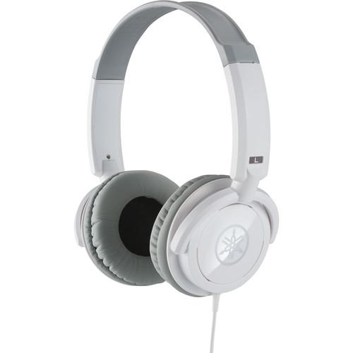 Yamaha HPH-100WH Closed Stereo Headphones (White) HPH-100WH