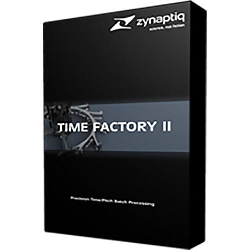 Zynaptiq TIME FACTORY II - Time/Pitch Batch TIME FACTORY II