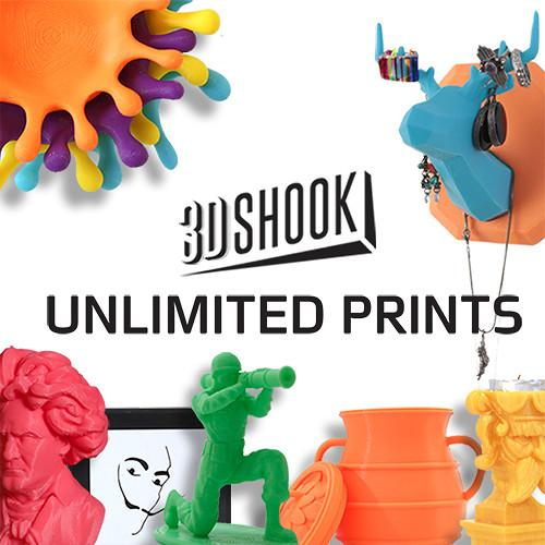 3Dshook  Subscription Print on Demand 12MONTHS