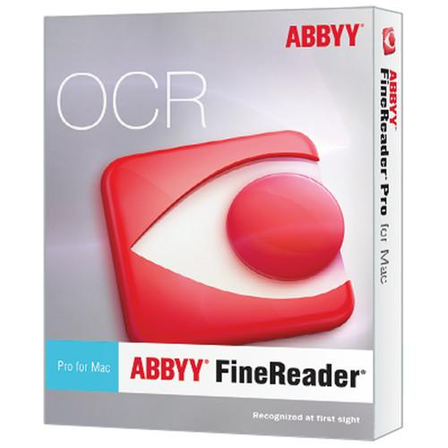 ABBYY  FineReader Pro for Mac (Upgrade) FRPUM12XE