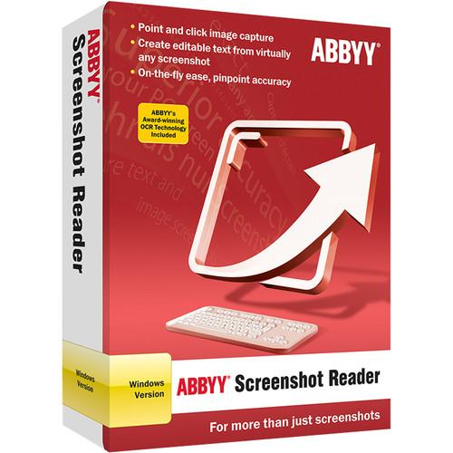 ABBYY Screenshot Reader 11 (Download) FRLSSRFW11E