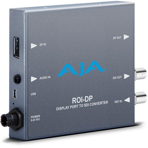 AJA DisplayPort to SDI Mini-Converter with ROI Scaling ROI-DP