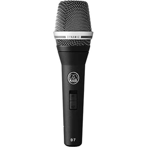 AKG D7 (S) Reference Dynamic Vocal Microphone 3139X00020