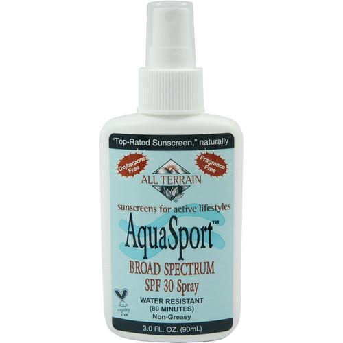 All Terrain Aqua Sport SPF30 Sunscreen (3 oz, Spray) AT-2333