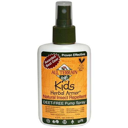 All Terrain Kid's Herbal Armor Spray Repellent (4 oz) AT-1004
