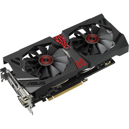 ASUS Strix Radeon R9 380 Graphics Card STRIX-R9380-DC2OC-2GD5-GA