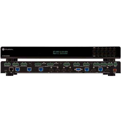 Atlona 4K/UHD 8x2 Multi-Format Matrix Switcher AT-UHD-CLSO-824