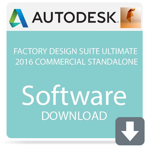 Autodesk Factory Design Suite Ultimate 2016 760H1-WWR111-1001-VC