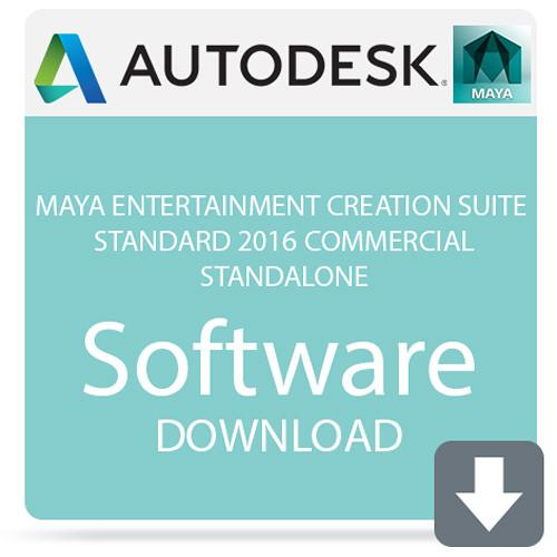Autodesk Maya Entertainment Creation Suite 660H1-WWR111-1001-VC