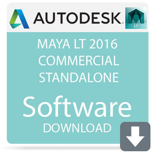 Autodesk Maya LT 2016 Commercial Standalone 923H1-WWR11B-1001-VC