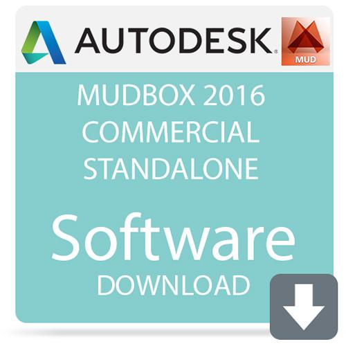Autodesk Mudbox 2016 Commercial Standalone 498H1-G1511C-1001