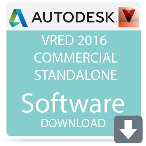 Autodesk VRED 2016 Commercial Standalone 884H1-WWR11B-1001-VC