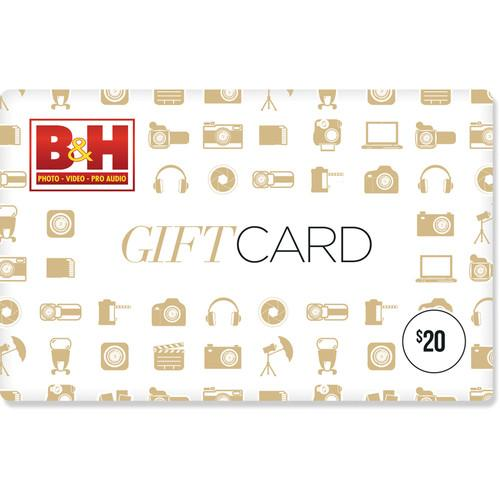 $40 Gift Card (2x $20 Cards)