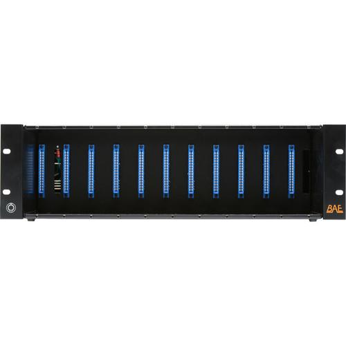BAE 500-Series 11-Space Rack with 48V Power Supply 11SPACERPS