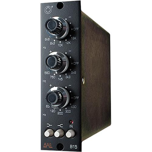 BAE  B15 3-Band EQ, 500 Series Module B15