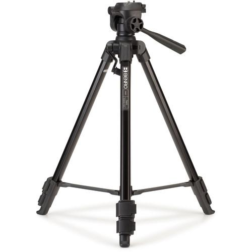 Benro T800EX Digital Aluminum Tripod with 3-Way Pan/Tilt T800EX