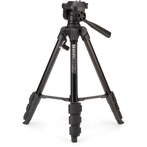 Benro T880EX Digital Aluminum Tripod with 3-Way Pan/Tilt T880EX