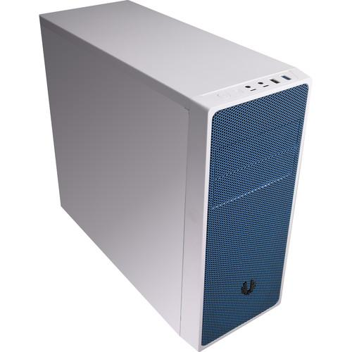 BitFenix Neos Mid-Tower Case ( White/Blue) BFC-NEO-100-WWXKB-RP