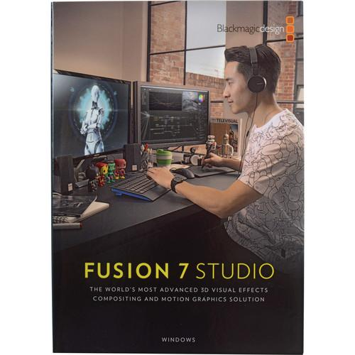 Blackmagic Design Fusion 7 Studio for Windows DV/STUFUS
