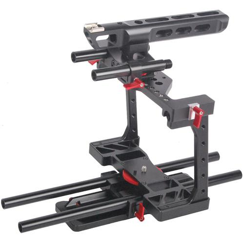 CAME-TV BMCC-01 Rig with Top Handle Dovetail Plate & BMCC01