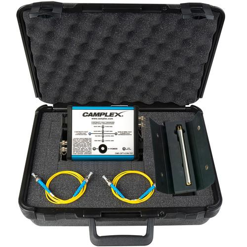 Camplex opticalCON Fiber Optic Cable Tester CMX-OPT-CON-TST