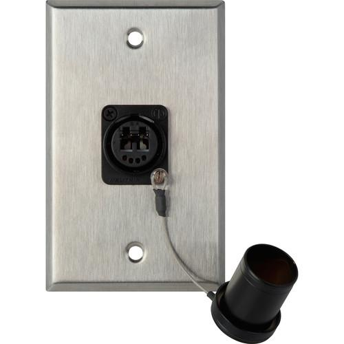 Camplex WPL-1214 1-Gang Stainless Steel Wall Plate WPL-1214